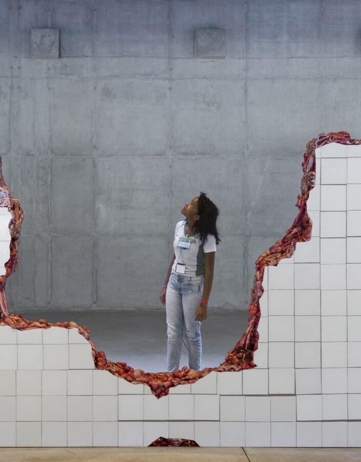 Visitas Educativas Escola vai ao museu no Inhotim em Brumadinho