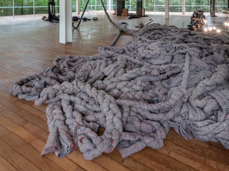 Obra Tereza, 1998, de Tunga. Acervo de arte contemporânea Inhotim